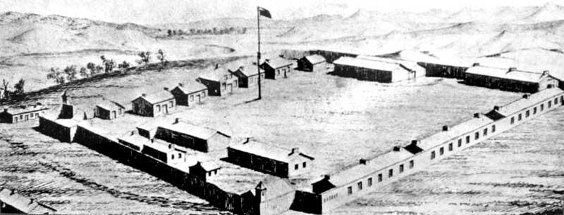 Fort C. F. Smith, Montana
