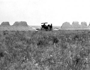 Fort C.F. Smith Ruins in the early 1900s.