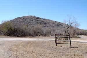 The site of Fort Inge, Texas by Kathy Weiser-Alexander.