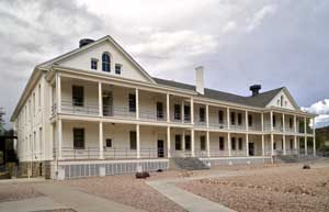 Fort Whipple, Arizona building today by Carol Highsmith.