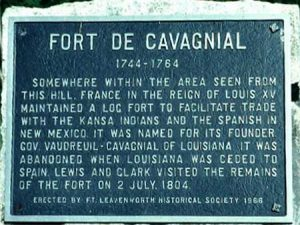 Fort de Cavagnial Historic Marker