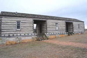 Fort Martin Scott, Texas Barracks by Kathy Weiser-Alexander.