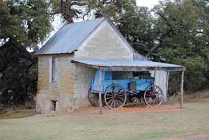 Sutler's Store at Fort Martin Scott, Texas by Kathy Weiser-Alexander.