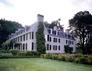 Home of Presidents John Adams and John Quincy Adams in Quincy, Massachusetts by Carol Highsmith.