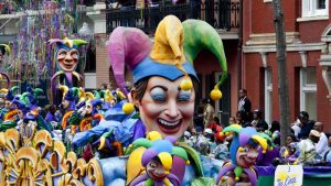 Mardi Gras, New Orleans, Louisiana. Photo by Carol Highsmith.