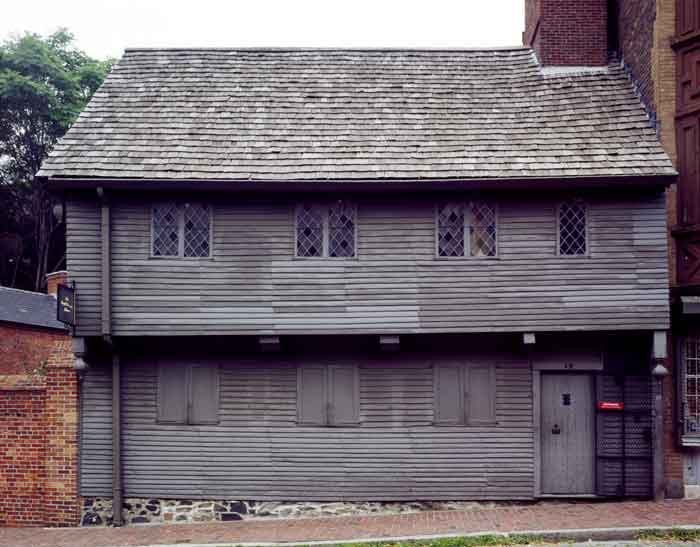Paul Revere House in Boston, Massachusetts by Carol Highsmith