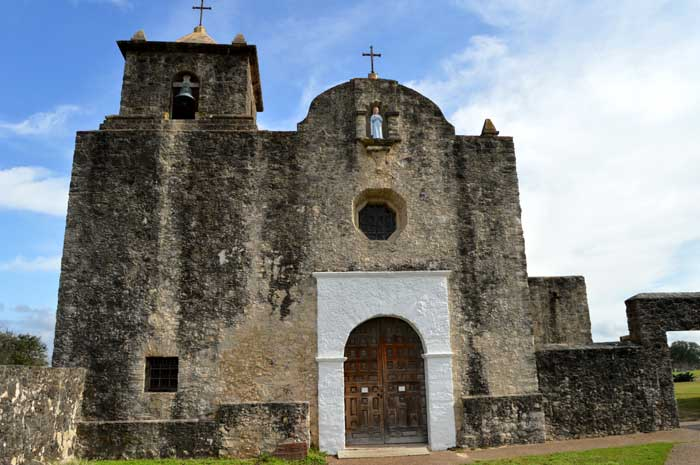 Our Lady of Loreto Chapel at the Presidio de la Bahia.