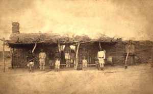 San Carlos Reservation, Arizona by Camillus S. Fly, acout 1880