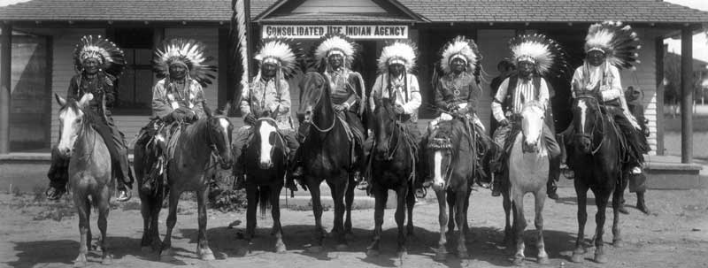Southern Ute Indian Warriors