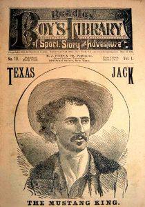"""John Baker """"Texas Jack"""" Omohundro"""
