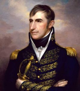 General William Henry Harrison, by Rembrandt Peal, 1813