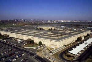 Aerial view of the Pentagon in Arlington, Virginia by Carol Highsmith.