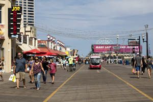 Atlantic City, New Jersey boardwalk by Carol Highsmith.