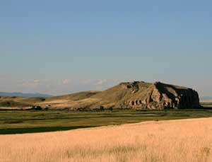 Beaverhead Rock, Montana by the National Park Service.