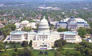 Capitol Hill, Washington, D.C. by Carol Highsmith.