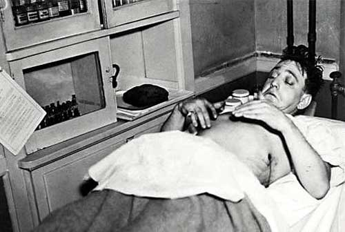 Dutch Schultz in the Hospital