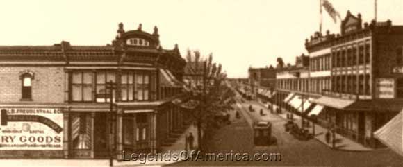 El Paso, Texas 1888