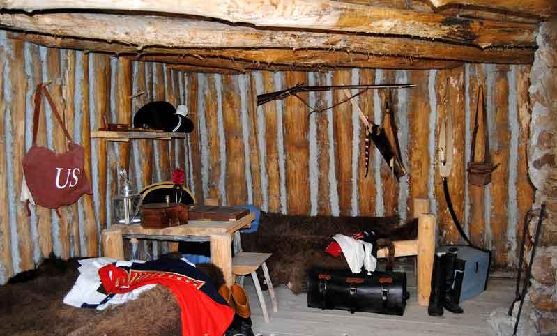 Fort Mandan Interior
