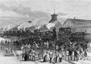 The Great Railroad Strike of 1877.