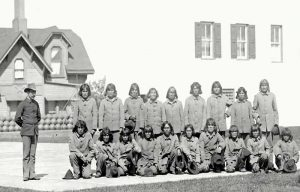 Hopi Prisoners sent to Alcatraz.