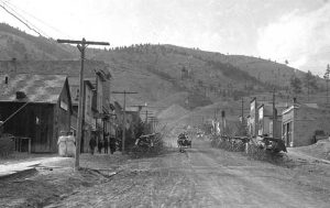 Kendall, Montana about 1912.
