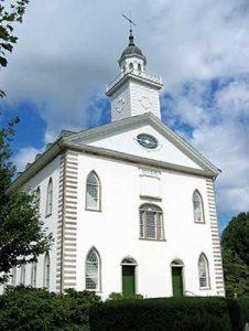 Kirkland, Ohio Mormon Temple, courtesy Wikipedia