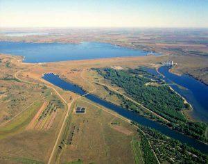 Lake Oahe, South Dakota by the U.S. Corps of Engineers