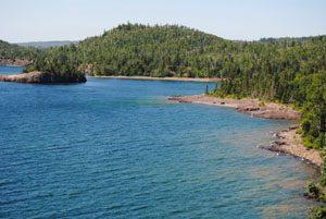 Lake Superior, Minnesota by Kathy Weiser-Alexander.