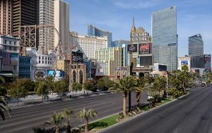 Las Vegas Strip by Stefan Wagener, Wikipedia.