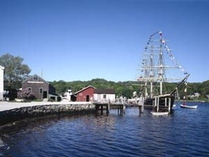 Mystic Seaport, Connecticut by Carol Highsmith.