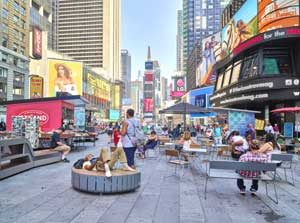 Times Square in New York City by Carol Highsmith.