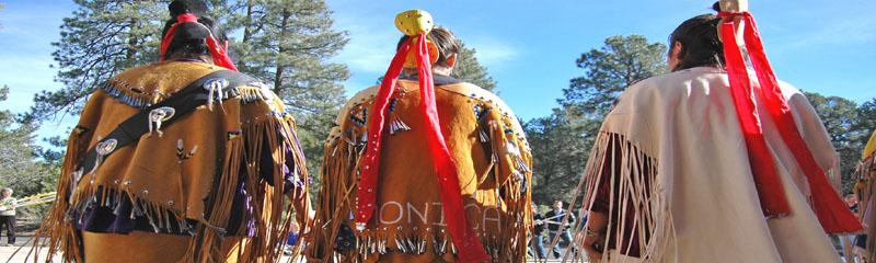 Native Americans at Grand Canyon National Park.