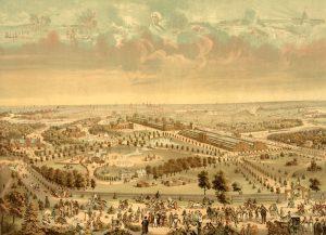 Centennial Exposition in Philadelphia, Pennsylvania by Charles Shober & Co., 1876