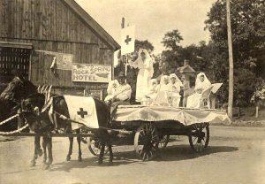 Red Cross Wagon