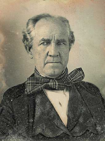 Samuel Houston, around 1850.
