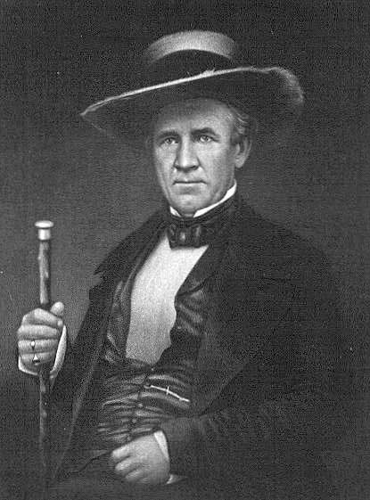 Sam Houston around 1855