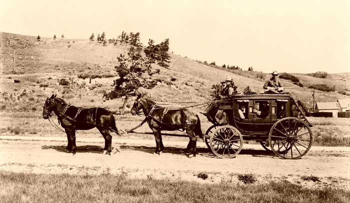 Stagecoach 1913