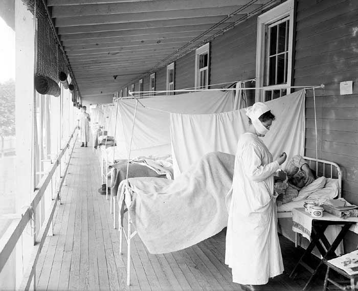 Influenza Ward, Walter Reed Hospital, Washington, D.C.