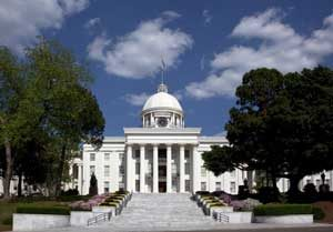Alabama capital in Montgomery by Carol Highsmith.