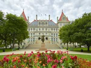 New York Capitol in Albany by Carol Highsmith.