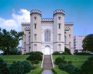 Old State Capitol in Baton Rouge, Lousiana by the Historic American Buildings Survey.