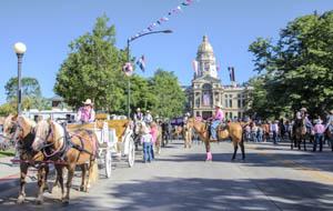 Frontier Days in Cheyenne, Wyoming by Carol Highsmith.