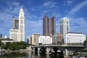 Columbus, Ohio Skyline by Carol Highsmith.
