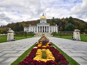 Capitol building in Montpelier, Vermont by Carol Highsmith.