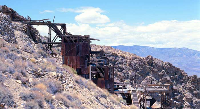 Skidoo Mine in Death Valley, California by Gianfranco Archimede, 2000.