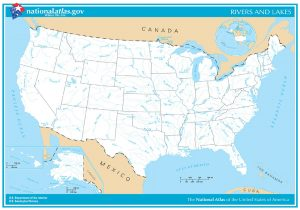 U.S. Rivers & Lakes