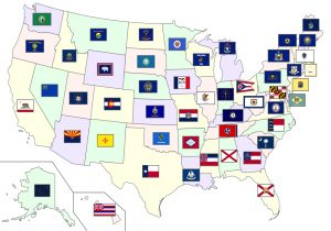 State Flags in the United States.
