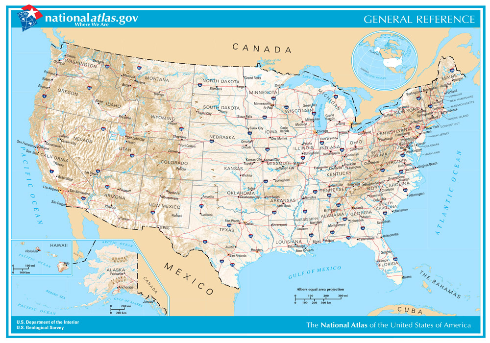 United States Maps Legends Of America