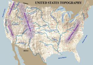 U.S. Topography