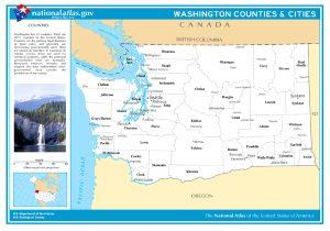 Washington Counties & Cities.